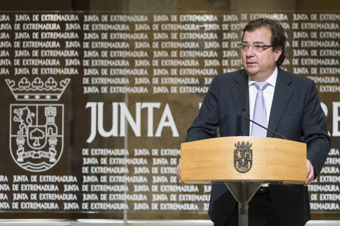 Guillermo Fernández Vara, President of the Regional Government of Extremadura